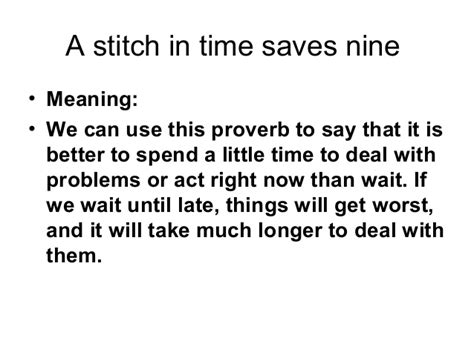 A Stitch In Time Saves Nine Essay by Stitch In Time Saves Nine Essay Essay On Stitch In Time Saves Nine A Stitch In Time Saves Nine