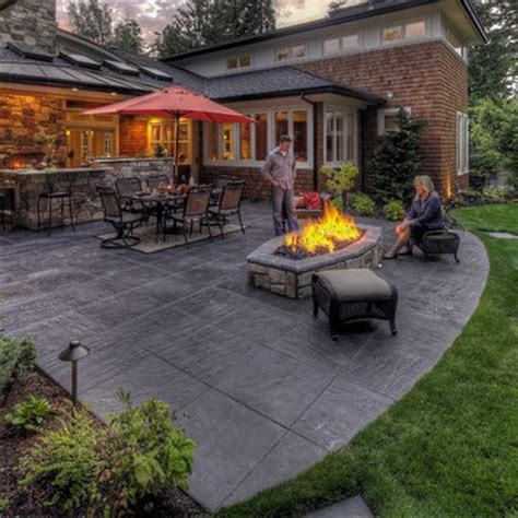 Sted Concrete Backyard Ideas by 17 Best Patio Ideas On Patio Backyard