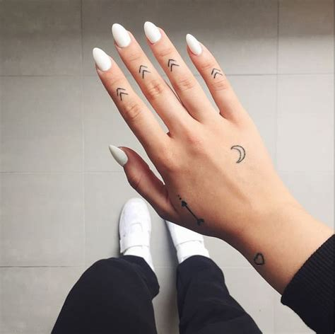 small tattoos on hands small but mighty minimalist tattoos inked cartel