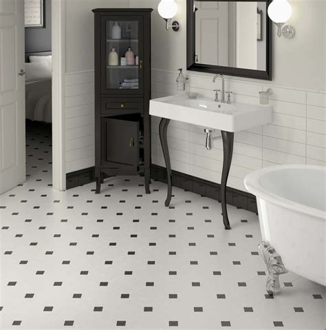 semi gloss in bathroom bathroom with octagonal floor and semi gloss wall tile