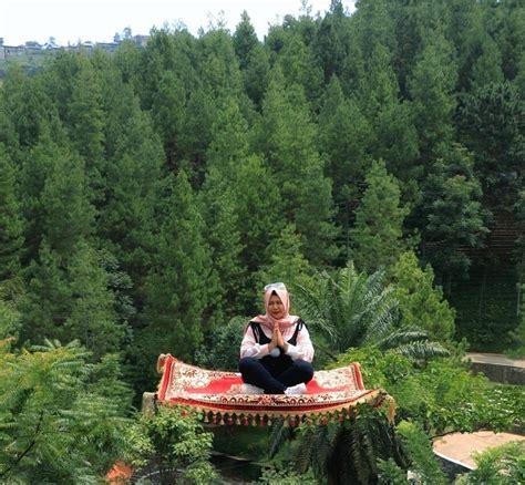 Karpet Aladin dago park bandung tempat wisata hits di tanah