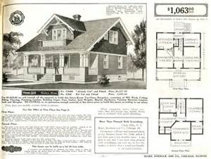 1930s Bungalow Floor Plans Prefabricated Kit Sears Modern Homes