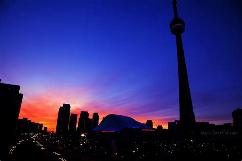 Landscape Toronto Downtown Toronto In The Jerry Fei Photography