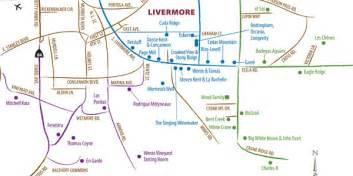 map of livermore california the livermore wine country guide diablo magazine