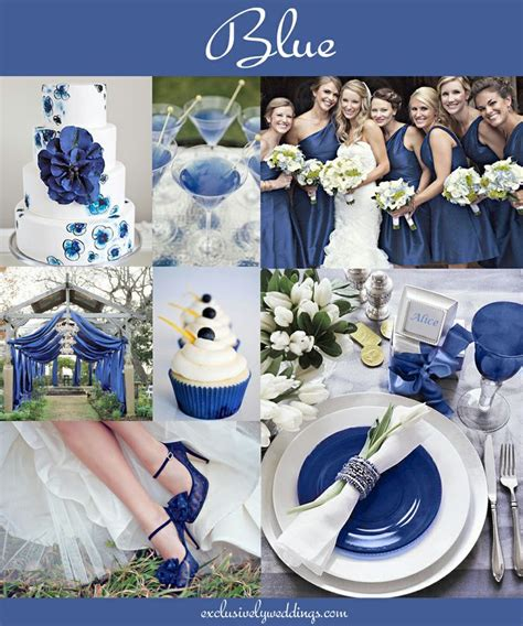 theme blog blue blue wedding theme