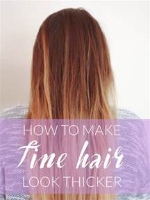 pictures ofhaircuts that make your hair look thicker how to make fine hair look thicker michelle phan