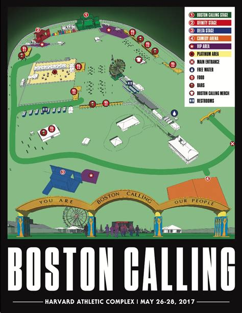 heres boston callings spring 2016 lineup you are here boston calling unveils site map for spring