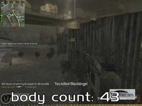Call Of Duty 56 call of duty 4 gamalahalaff 56 kill streak