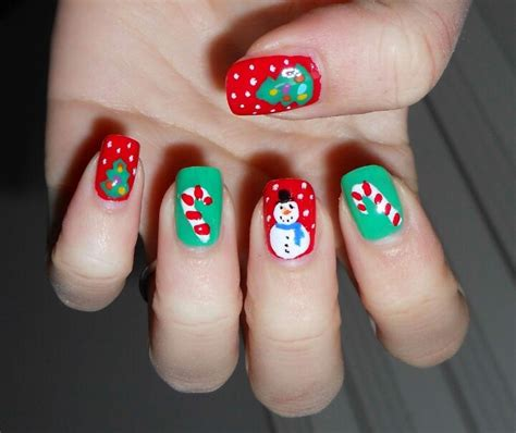christmas themed nails pinterest discover and save creative ideas