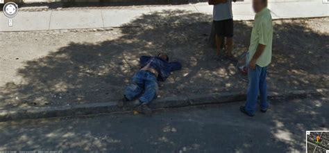 dead bodies on google street view is this man captured by google street view from chile dead