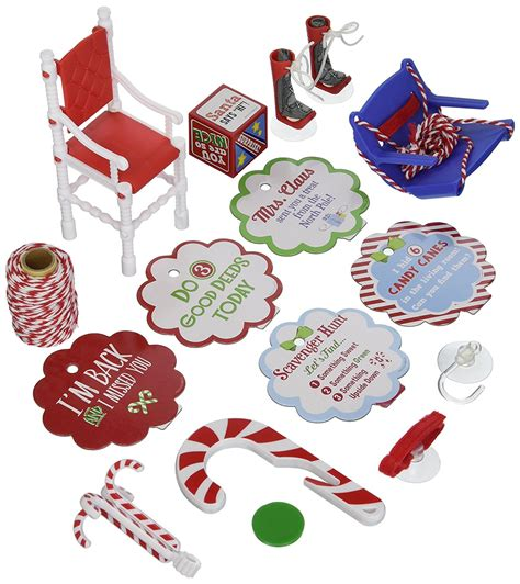printable elf accessories ideas to make life easier for your elf on the shelf the