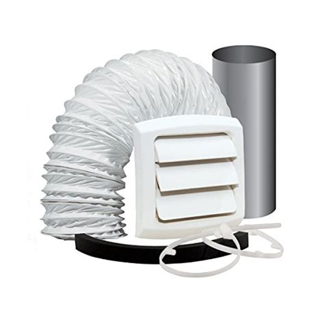 bathroom fan duct kit builders edge 140137079095 scalloped exhaust vent 095