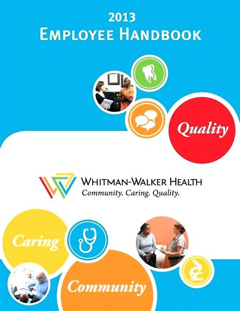 employee handbook cover page template sle employee handbook cover page ingami