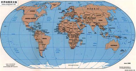 world map highlight cities 世界地图英文版 世界地图地图库