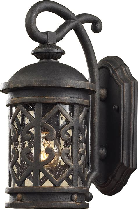 Tuscan Lighting by Elk Lighting 42060 1 Tuscany Coast Exterior Wall Sconce