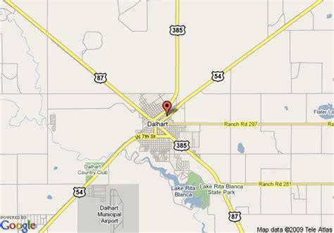 map of dalhart map of inn express dalhart dalhart