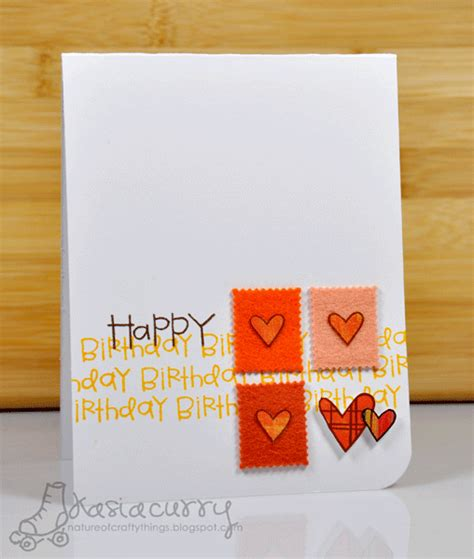 how to make a really cool birthday card paper smooches wednesday april 6