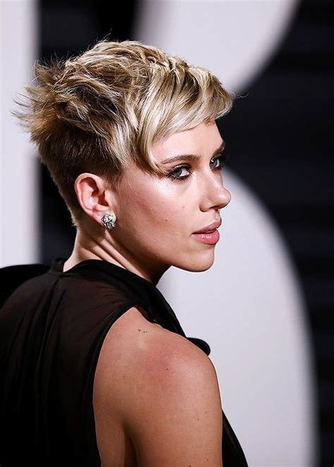 scarlettjohanssonhaircut at the oscars 202 best images about hair on pinterest
