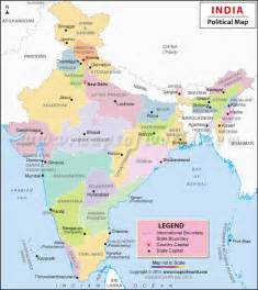 Map Of India And Surrounding Countries by Blank Political Map Of India With Neighbouring Countries