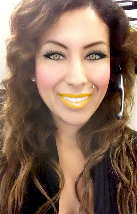 youcam hairstyles yellow lipstick lipsticks and makeup app on pinterest