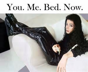 michael wants you to come in his bed michael jackson