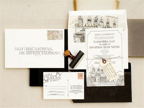 Individuelle Hochzeitseinladungen by Stationary Oh So Beautiful Paper Tickle Me Vintage