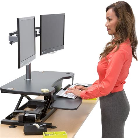 standing desk converter amazon the 10 best adjustable standing desks in 2017