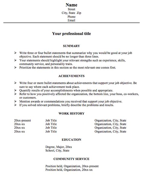achievement resume format for big problems susan ireland resumes