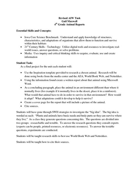 research report template grade 4 grading research papers durdgereport632 web fc2