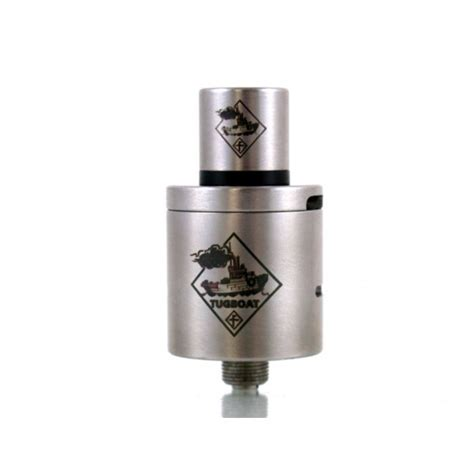 Square Caps For Tugboat Atty By Flawless Blue Black dripper tugboat atty v2 sur vapstyle fr