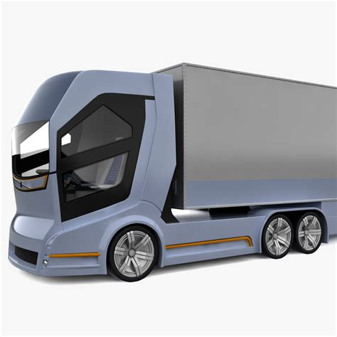 Volvo Truck Concept 2020 by Realistic Concept Truck Vision 3d 3ds