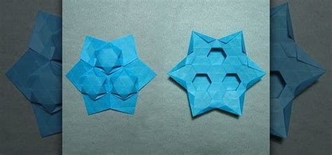 Tessellation Origami - how to origami a tessellation puff 171 origami