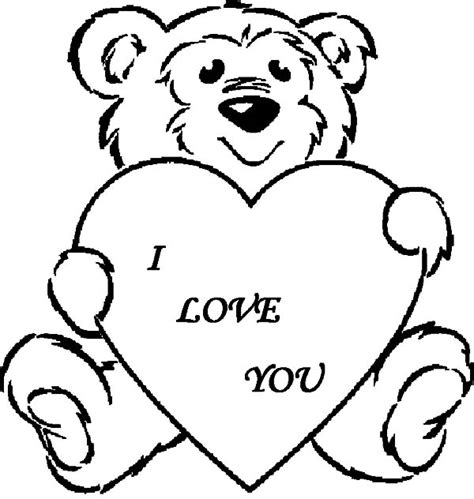 i love you drawing coloring pages