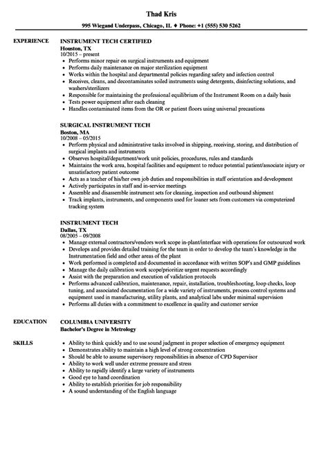 resume format for instrument technician computer repair technician resume 7 languages indeed