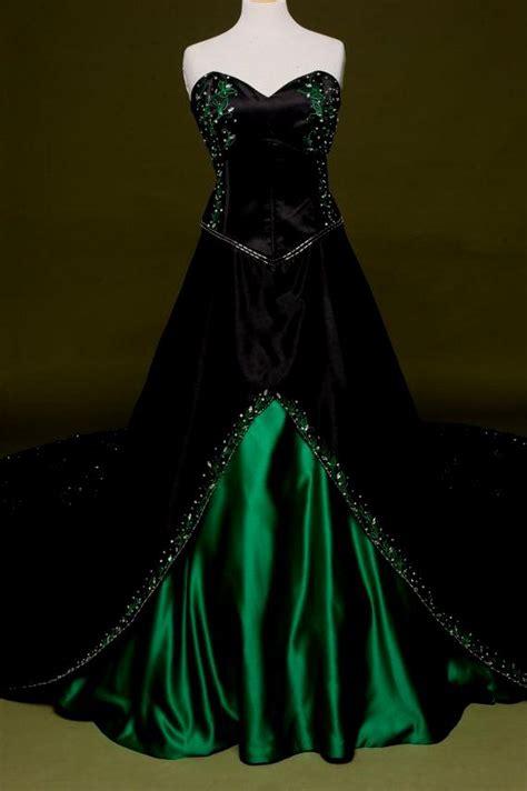 Dress Green Black black and green wedding dress oasis fashion