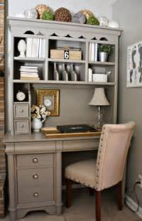 Diy Desk Hutch Painted Furniture How To Hutch Desk