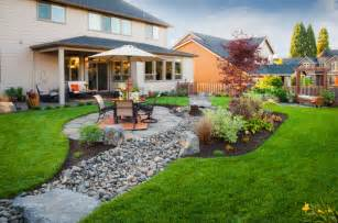 Patio Ideas For Flat Yard ландшафтный дизайн двора частного дома фото видео