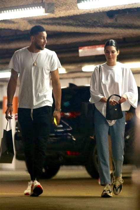 kendall jenner  ben simmons  shopping  barneys ny