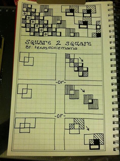 zentangle pattern squares zentangle pattern tutorial square 2 square zentangle
