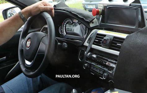 bmw g20 interior spyshots g20 bmw 3 series interior seen