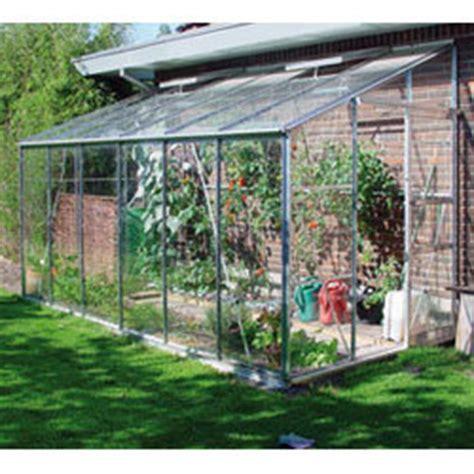 Serre Adossée Verre 2951 tous les bons plans jardin serre de jardin abri