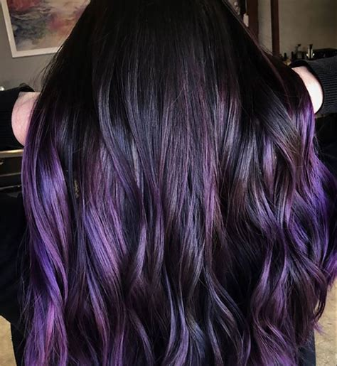 blackberry color blackberry purple hair color trend instyle