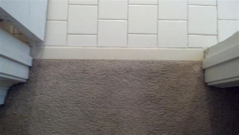 Transition help. laminate to tile.   DoItYourself.com