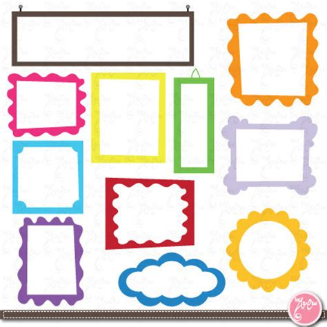 photo frame cards frame designs digital frame frame clip elements