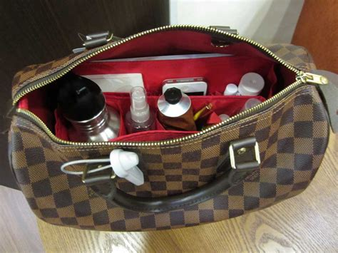 Hboklv Hanger Bag Organizer Karakter Lv purse organizer insert for louis vuitton speedy 30 damier ebene photo cloversac