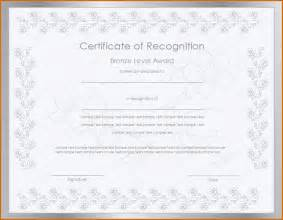 template certificate of recognition 13 certificate of recognition template