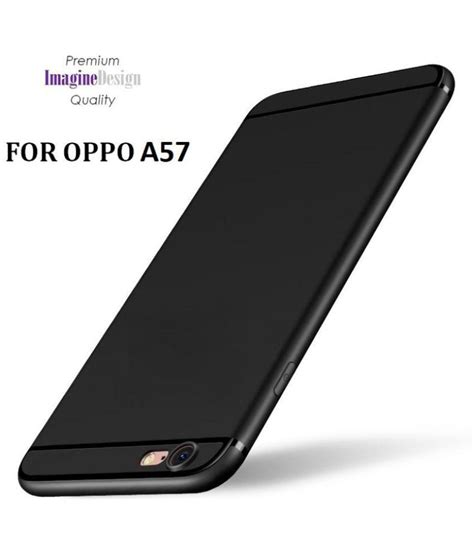 oppo a57 silicon chrome oppo a57 soft silicon cases wow imagine black plain