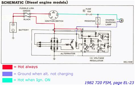 hitachi alternator wiring diagram foto gambar