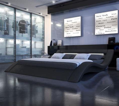 modern nerius black platform bed modern platform bed