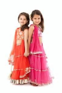 kidology designer kids wear dresses 2014 indian lehenga